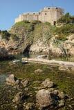 Fort Lovrijenac dubrovnik croatia Royaltyfri Fotografi