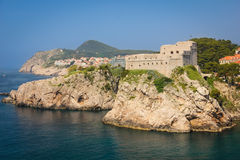 Fort Lovrijenac. Dubrovnik. Croatia Royalty Free Stock Photography