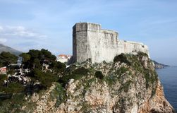 Fort Lovrijenac, Dubrovnik Stock Photography