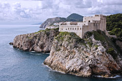 Fort Lovrijenac in Dubrovnik (Kroatië) Stock Afbeelding