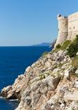 Fort Lovrijenac in Dubrovnik, Kroatien Lizenzfreie Stockbilder