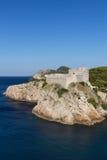 Fort Lovrijenac in Dubrovnik Stock Photos