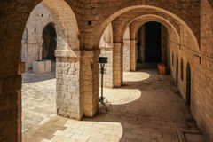 Fort Lovrijenac, Inner yard. Dubrovnik. Croatia Royalty Free Stock Photos
