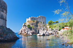 Fort Lovrjenac in Dubrovnik Royalty Free Stock Photo