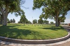 Fort-Lyon-nationaler Friedhof Lizenzfreie Stockbilder