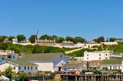 Fort Mackinac Stock Afbeelding
