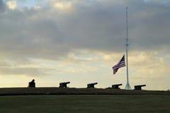 Fort Macon stock afbeelding