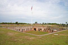 Fort Macon royalty-vrije stock foto