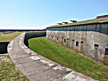 Fort Macon Royaltyfria Bilder