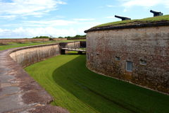 Fort Macon Stockfoto