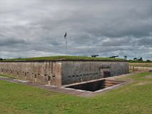 Fort Macon North Carolina Arkivbilder