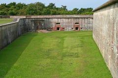 Fort Macon Scene Stockfotos