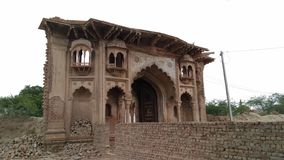 Fort of Madrak. Neglected fort of Madrak Aligarh India Stock Images