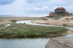 Fort Mahon Stockfoto