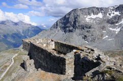 Fort Malamot - Mont Cenis Stock Photography