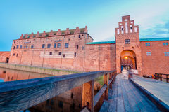 Fort in Malmo, Sweden. Old fortress in old part of Malmo, Sweden Stock Photography