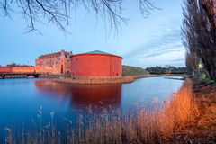 Fort in Malmo, Sweden. Old fortress in old part of Malmo, Sweden Royalty Free Stock Photography