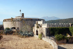 Fort Mamula. On an uninhabited islet in the Adriatic Sea, Montenegro Royalty Free Stock Photos