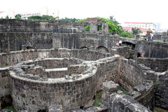 Fort in Manila Intramuros Stock Photography
