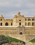 Fort Manoel near Sliema. Malta island Stock Photo