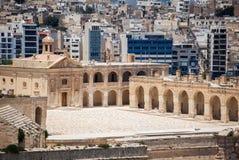 Fort manoel at Valletta, Malta. Fort manoel at city Valletta, Malta Royalty Free Stock Photography