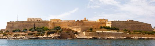 Fort Manoel Valletta Malta 2013 Royalty Free Stock Image
