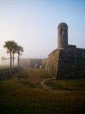 Fort Mantanzas dans le soleil de matin Image libre de droits