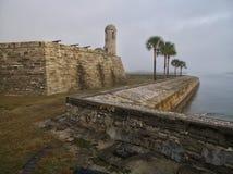 Fort Mantanzas in de ochtendzon Stock Foto