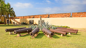 Fort in Maputo, Mosambik Stockbild