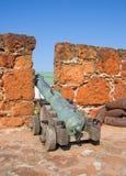 Fort in Maputo, Mosambik Stockbild