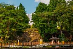 Fort Margherita dans Kuching sarawak malaysia borneo images libres de droits