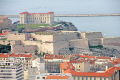 Fort in Marseilles Stock Images