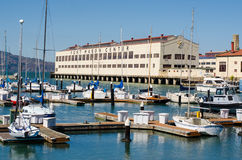 Fort Mason boat dock Royalty Free Stock Images