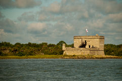 Fort Matanzas Photos libres de droits
