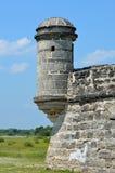 Fort Matanzas in St Augustine Stock Afbeelding