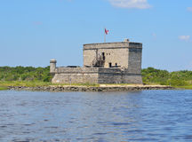 Fort Matanzas, St. Augustine, Florida. Fort Matanzas, an old Spanish fort near St. Augustine, Florida, USA Stock Photography