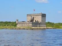 Fort Matanzas, St. Augustine, Floryda Fotografia Stock