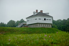 FORT MCCLARY, fort de militaires de Kittery Maine 1844 Photo stock