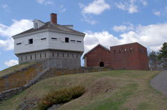 Fort McClary, Kittery Maine, USA Lizenzfreies Stockfoto