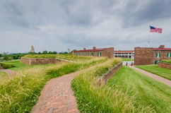 Fort McHenry - Baltimore, M.D. royalty-vrije stock foto's