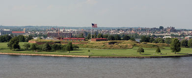 Fort McHenry, Baltimore, Maryland Stock Afbeelding