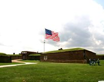Fort McHenry Baltimore Maryland royalty free stock photo