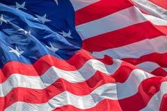 Fort mchenry baltimore usa flag while waving. Fort mchenry baltimore usa  america flag close up Stock Image