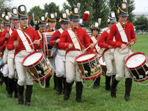 Fort McHenry Drummers stock images
