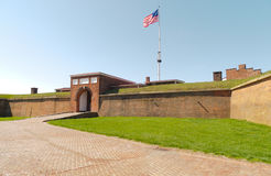 Fort McHenry National Monument Historic Shrine. In Baltimore Royalty Free Stock Images