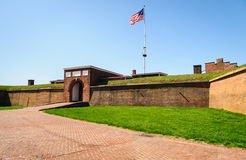 Fort McHenry National Monument and Historic Shrine Royalty Free Stock Photos