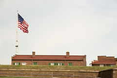 Fort McHenry. National Monument War of 1812 Royalty Free Stock Photography