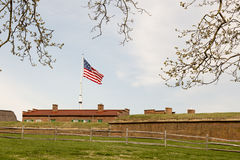 Fort McHenry. National Monument War of 1812 Stock Image
