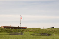 Fort McHenry. National Monument War of 1812 Stock Images