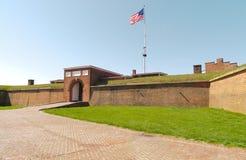 Fort McHenry nationales Denkmal-historischer Schrein Lizenzfreie Stockbilder